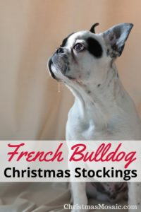 French Bulldog Christmas Stockings Christmas Mosaic