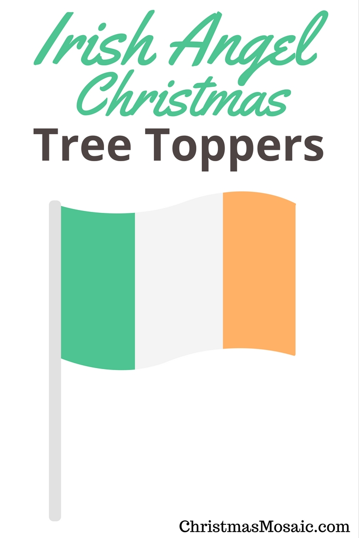 Irish Angel Christmas Tree Tops